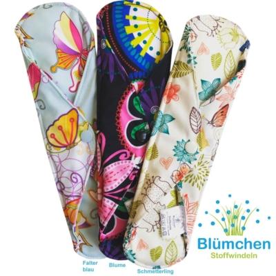 Stoffbinden und Slipeinlagen für die moderne, umweltbewußte Frau